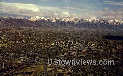 Salt Lake City, Utah     ;     Salt Lake City, UT Postcard