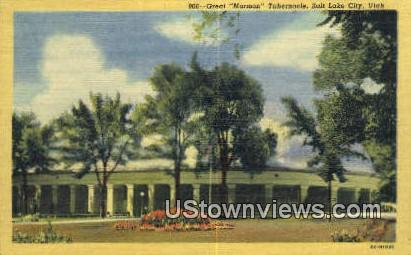 Great Mormon Tabernacle - Salt Lake City, Utah UT Postcard