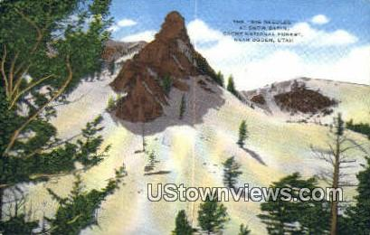 Big Needles - Ogden, Utah UT Postcard