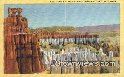 Temple of Osiris - Bryce Canyon National Park, Utah UT Postcard