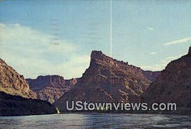 Up Stream, Lake Powell - Green River, Utah UT Postcard