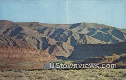 Navajo Rug - Mexican Hat, Utah UT Postcard
