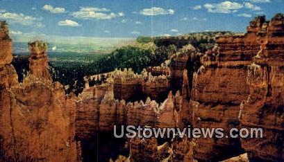 Happy Family - Bryce Canyon National Park, Utah UT Postcard