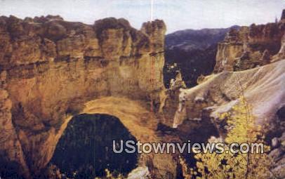 Natural Bridge - Southwestern Utah Postcards, Utah UT Postcard