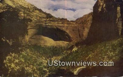 Great Arch - Zion National Park, Utah UT Postcard