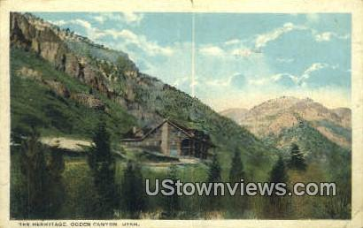 The Hermitage - Ogden Canyon, Utah UT Postcard