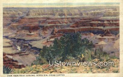 Point Sublime - Grand Canyon, Utah UT Postcard