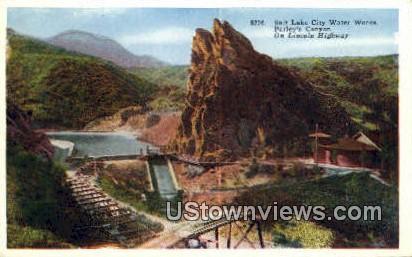 Salt Lake City Water Works - Parleys Canyon, Utah UT Postcard