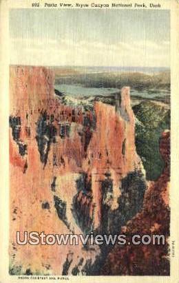 Paria View - Bryce Canyon National Park, Utah UT Postcard