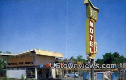 Imperial 400 Motel - Provo, Utah UT Postcard