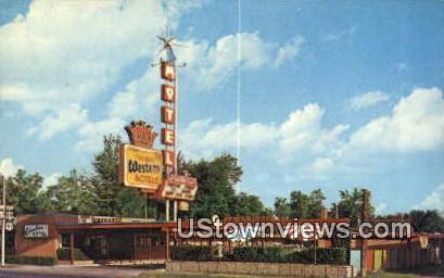 Columbian Motel - Provo, Utah UT Postcard
