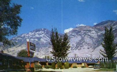 Urie Motel - Provo, Utah UT Postcard