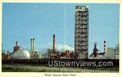 Geneva Steel Plant - Provo, Utah UT Postcard