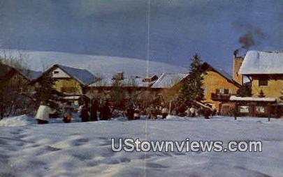 Challenger Inn - Sun Valley, Utah UT Postcard