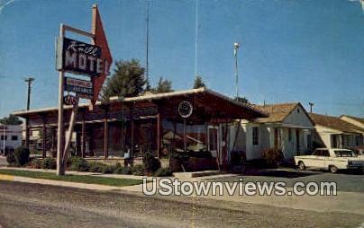 Knell Motel - Cedar City, Utah UT Postcard