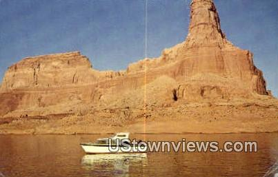 Lake Powell, Gunsight Butte - Utah UT Postcard