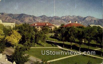 University of Utah - Missouri River Postcard