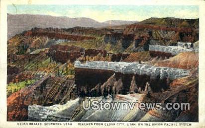 Cedar Breaks - Southern Utah Postcards, Utah UT Postcard