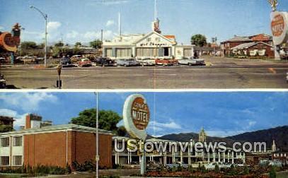 Covey's New Am Motel & Coffee Shop - Salt Lake City, Utah UT Postcard