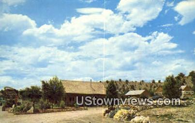 Fisher's Rancho Lodge & Rock Shop - Orderville, Utah UT Postcard