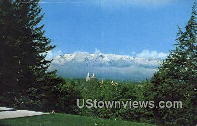 Cache Valley - Logan, Utah UT Postcard