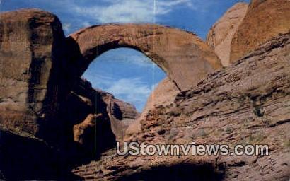 Rainbow Bridge National Monument - Utah UT Postcard