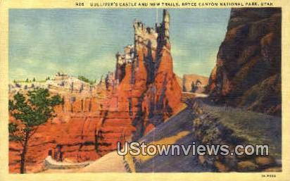 Gulliver's Castle - Bryce Canyon National Park, Utah UT Postcard