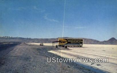 Bonneville Salt Flats - Great Salt Lake Desert, Utah UT Postcard