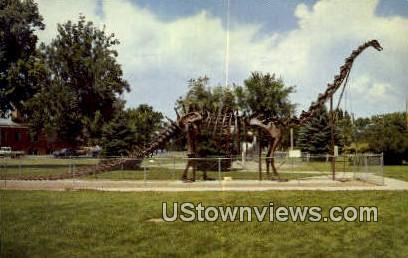 Dino National Monument - Vernal, Utah UT Postcard