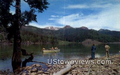 Puffer Lake - Beaver, Utah UT Postcard