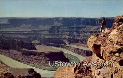Dead Horse Point - Upper Grand Canyon, Utah UT Postcard