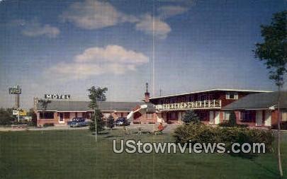Mitchell Motel - Logan, Utah UT Postcard