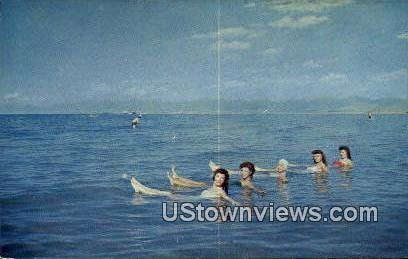 Swimmers - Great Salt Lake, Utah UT Postcard