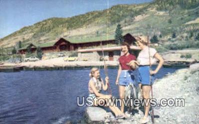 Fish Lake - Richfield, Utah UT Postcard