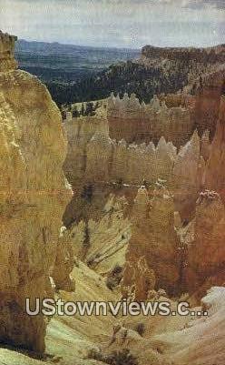 Bryce Canyon, UT     ;     Bryce Canyon, Utah Postcard