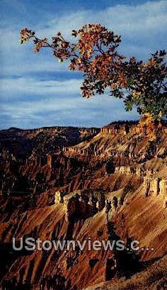 Cedar Breaks National Monument, UT     ;     Cedar Breaks National Monument, Utah Postcard