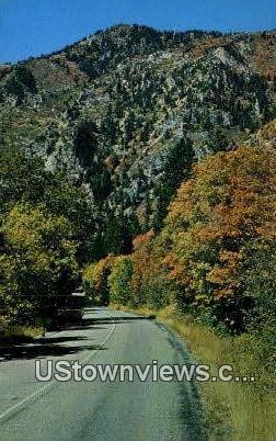 Timpanogos Cave National Monument - American Fork Canyon, Utah UT Postcard