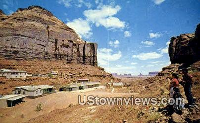 Monument Valley Mission - Mexican Hat, Utah UT Postcard