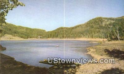 Puffer Lake - Fishlake National Forest, Utah UT Postcard
