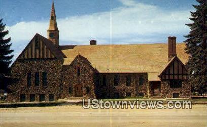LDS Mormon First Ward Chapel - Cedar City, Utah UT Postcard