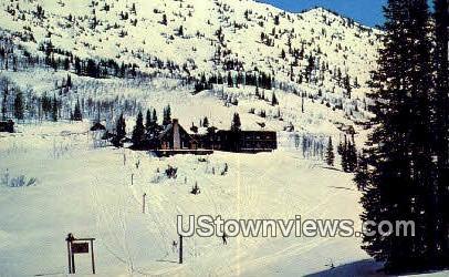 Alta Lodge - Utah UT Postcard