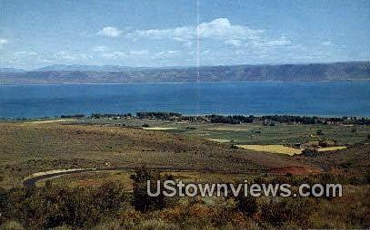 Bear Lake, Utah     ;     Bear Lake, UT Postcard