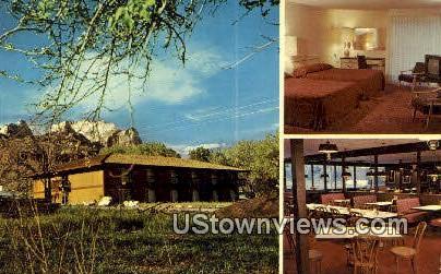 Bumbleberry Motel - Springdale, Utah UT Postcard