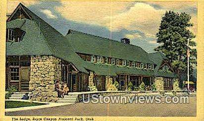 The Lodge - Bryce Canyon National Park, Utah UT Postcard