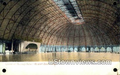 Pavilion Saltair - Great Salt Lake, Utah UT Postcard