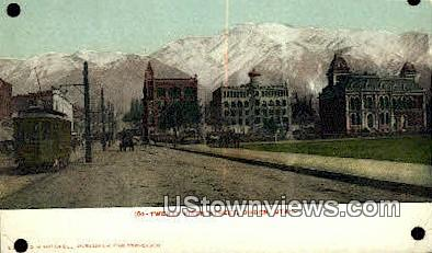 Twenty Fifth Street - Ogden, Utah UT Postcard