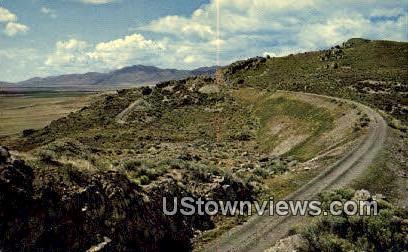 Golden Spike National Historic Site, UT     ;     Golden Spike National Historic Site, Uta - Utah UT Postcard