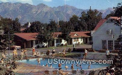 Utah Motor Park - Salt Lake City Postcard
