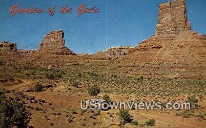 Garden of the Gods - Mexican Hat, Utah UT Postcard