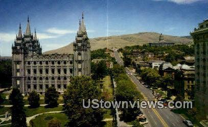 North Main Street - Salt Lake City, Utah UT Postcard